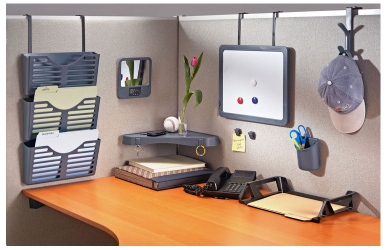 Is your cubicle giving you the blues piedmont office - How to organize your  cubicle office .