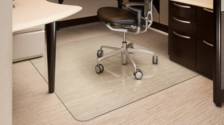 Glass Chair Mat The Glass Chair Mat Piedmont Office Supplies